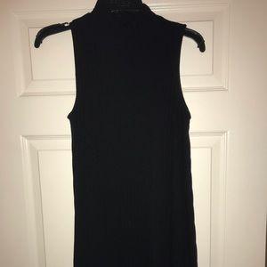 Sweater/turtle neck dress